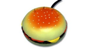 mouse hamburger